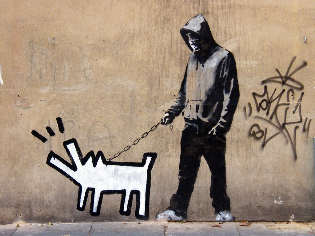 Image Result For Banksy Choose Your Weapon